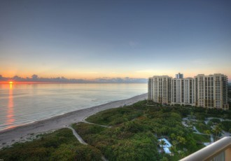 condos and beach view on singer island