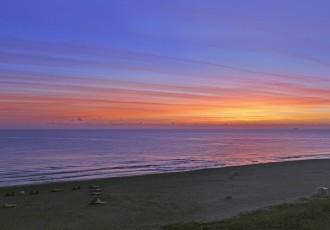 singer island at sunset
