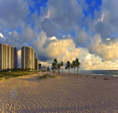 view of condos on singer island beach