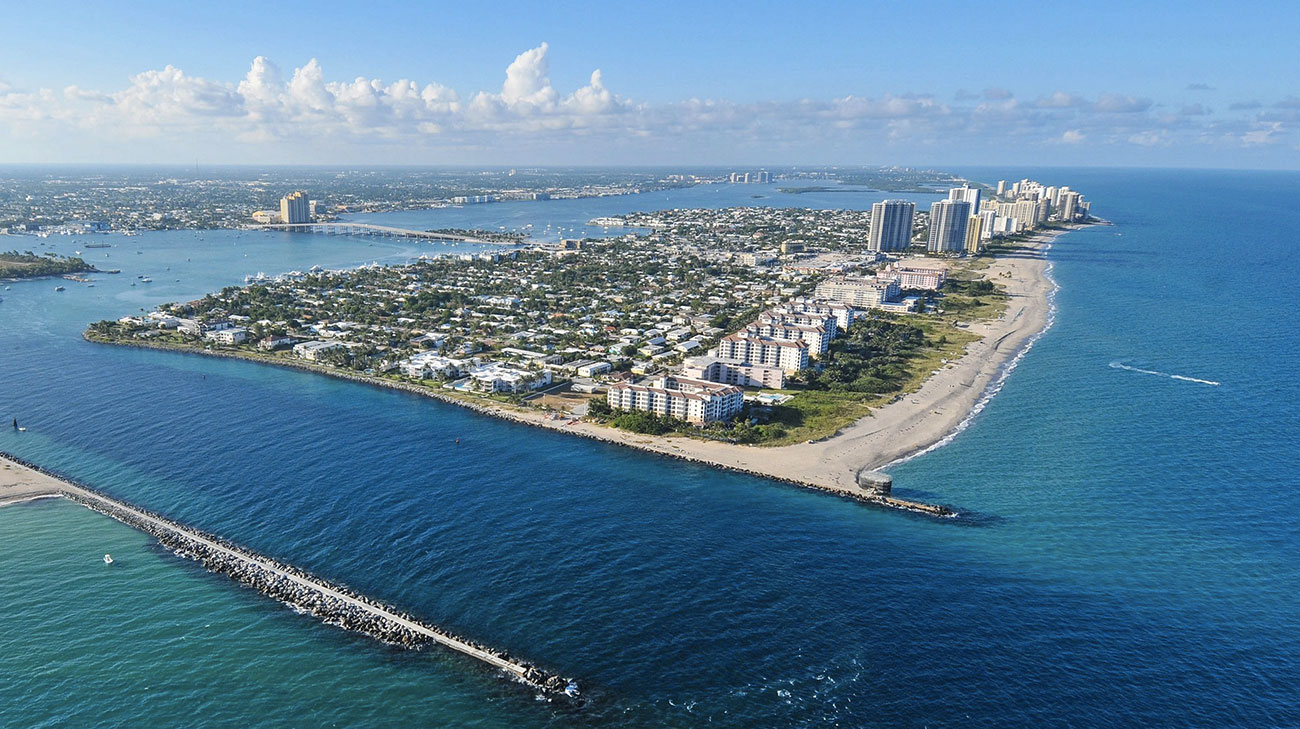 Where Is Singer Island In Florida On A Map