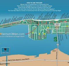 Singer Island Florida Map.Map Dermot Obrien Realty Sells Singer Island